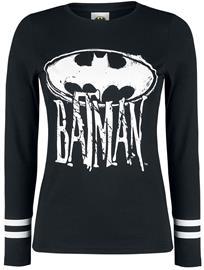 Batman - Logo - Pitkähihainen paita - Naiset - Musta