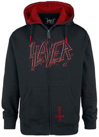 Slayer - EMP Signature Collection - Vetoketjuhuppari - Miehet - Musta punainen