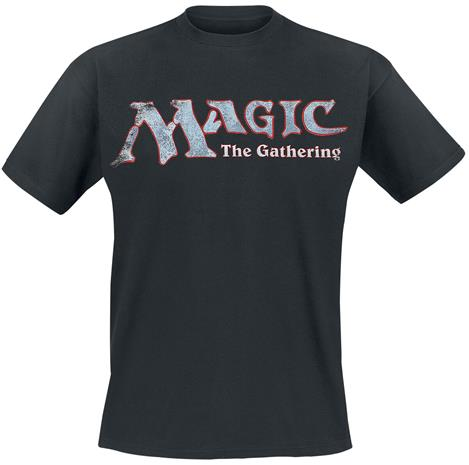 Magic: The Gathering - Logo - T-paita - Miehet - Musta