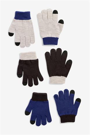 NEXT gloves boy 3pack 574990