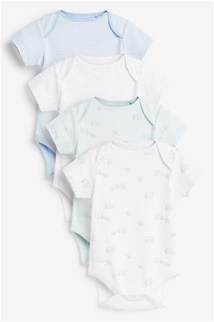 NEXT Vauvan body tytölle 4 kpl 827110