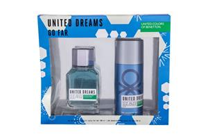 Benetton United Dreams Go Far EDT lahjapakkaus miehelle 100 ml