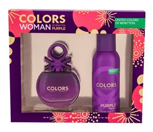 Benetton Colors de Benetton Purple EDT lahjapakkaus naiselle 80 ml