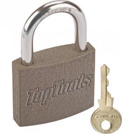 Lukko 2 avainta 75mm harmaa