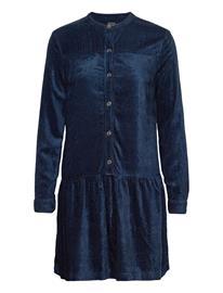 GAP Corduroy Shirtdress Lyhyt Mekko Sininen GAP NIGHT