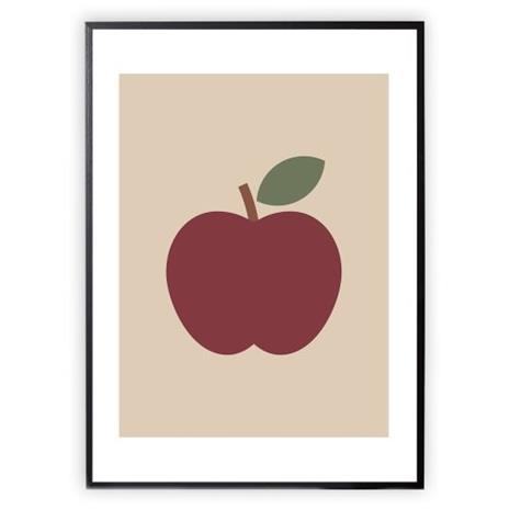 XO Posters, Poster Apple 30x40cm