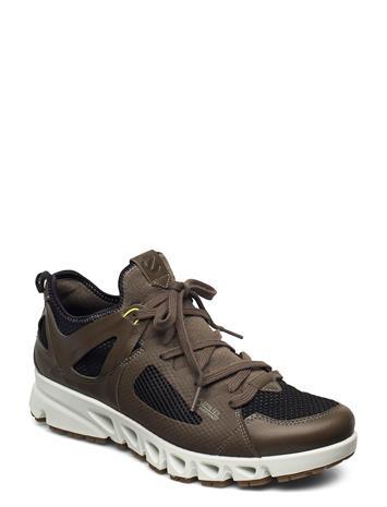 ECCO Multi-Vent M Matalavartiset Sneakerit Tennarit Musta ECCO TARMAC/BLACK/SULPHUR