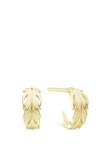 ID Fine Jewelry Raven Mini Hoop Accessories Jewellery Earrings Hoops Kulta ID Fine Jewelry GOLD