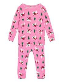GAP Babygap Unicorn Graphic Pj Set Pyjamasetti Pyjama Vaaleanpunainen GAP PARISIAN PINK