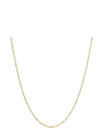 ID Fine Jewelry Figaro Chain Necklace - Gold Accessories Jewellery Necklaces Chain Necklaces Kulta ID Fine Jewelry GOLD