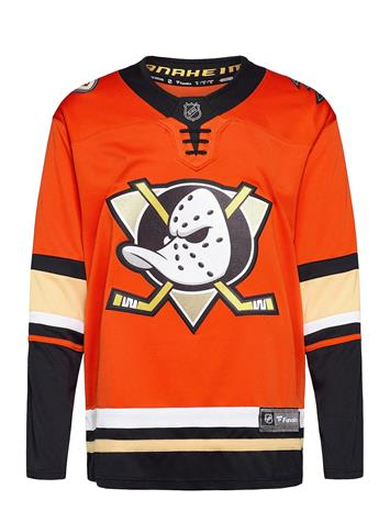 Fanatics Anaheim Ducks Fanatics Branded Alternate Breakaway Jersey T-shirts Long-sleeved Oranssi Fanatics ORANGE