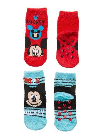 Disney Pack 2 Socks Socks & Tights Non-slip Socks Monivärinen/Kuvioitu Disney MULTI-COLOURED