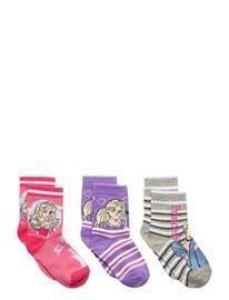 Disney Pack 3 Socks Socks & Tights Socks Monivärinen/Kuvioitu Disney MULTI-COLOURED