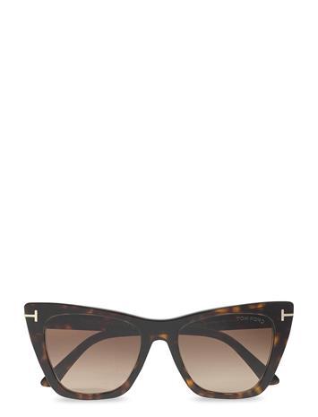 Tom Ford Sunglasses Poppy-02 Aurinkolasit Ruskea Tom Ford Sunglasses DARK HAVANA
