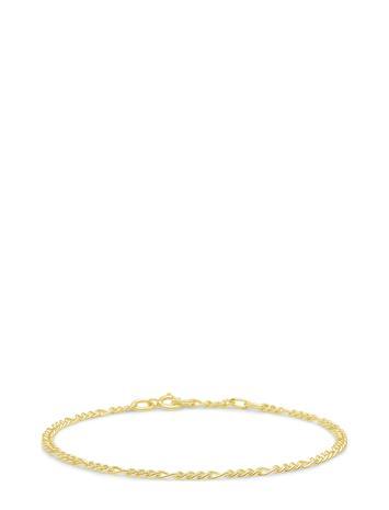 ID Fine Jewelry Figaro Chain Bracelet - Gold Accessories Jewellery Bracelets Chain Bracelets Kulta ID Fine Jewelry GOLD