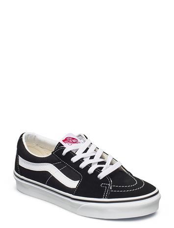 VANS Ua Sk8-Low Matalavartiset Sneakerit Tennarit Musta VANS BLACK/TRUE WHITE
