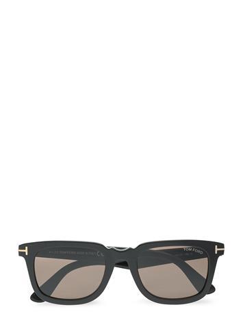 Tom Ford Sunglasses Dario Wayfarer Aurinkolasit Musta Tom Ford Sunglasses SHINY BLACK