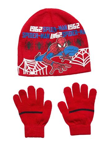Marvel Set2pcscollargloves Accessories Headwear Hats Punainen Marvel RED