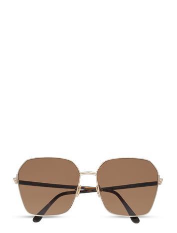 Tom Ford Sunglasses Claudia-02 Neliönmuotoiset Aurinkolasit Ruskea Tom Ford Sunglasses DARK HAVANA