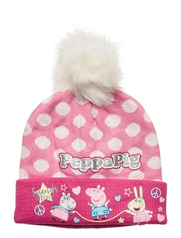 Peppa Pig Cap Accessories Headwear Hats Vaaleanpunainen Peppa Pig PINK