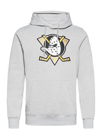 Fanatics Anaheim Ducks Value Essentials Overhead Hoodie Huppari Harmaa Fanatics SPORTS GREY