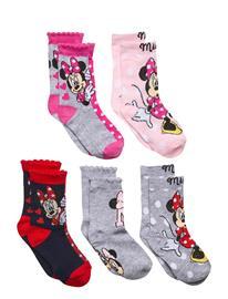 Disney Pack 5 Socks Socks & Tights Socks Monivärinen/Kuvioitu Disney MULTICOLOURED