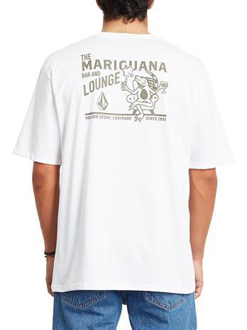 Volcom Mariguana Rlx T-Shirt white Miehet