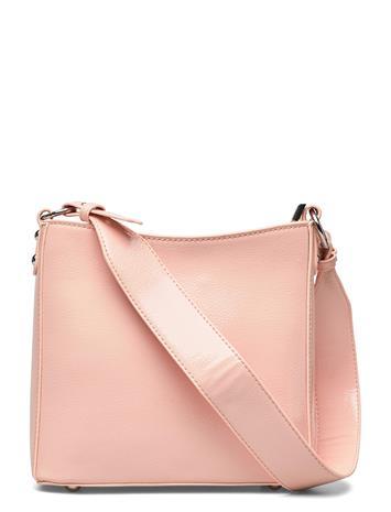 HVISK Amble Glossy Small Bags Small Shoulder Bags - Crossbody Bags Vaaleanpunainen HVISK LIGHT PINK