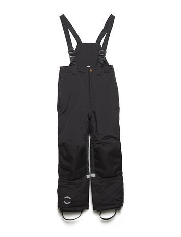 Mikk-Line Nylon Pants Outerwear Snow/ski Clothing Snow/ski Pants Musta Mikk-Line BLACK