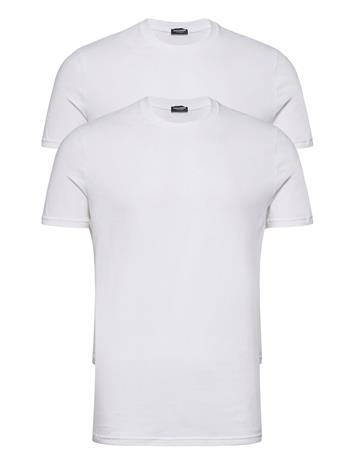 DSquared2 T-Shirt Twin Pack T-shirts Short-sleeved Valkoinen DSquared2 WHITE