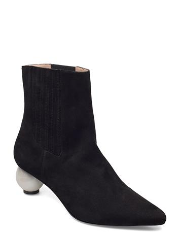 Mother of Pearl Roxanne Boot Shoes Boots Ankle Boots Ankle Boot - Heel Musta Mother Of Pearl BLACK