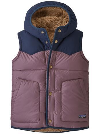 Patagonia Reversible Bivy Hoody Vest hyssop purple Tytöt
