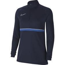 Nike Harjoituspaita Academy 21 Drill Top - Navy/Valkoinen/Sininen Nainen