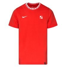 Kroatia T-paita Travel EURO 2020 - Punainen