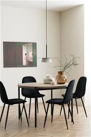 Ellos Ruokailuryhmä Gilda, jossa pöytä ja 4 tuolia