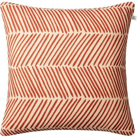 Chhatwal & Jonsson Chhatwal & Jonsson-Rama Cushion Cover 50x50 cm, Light Beige/Apricot Orange