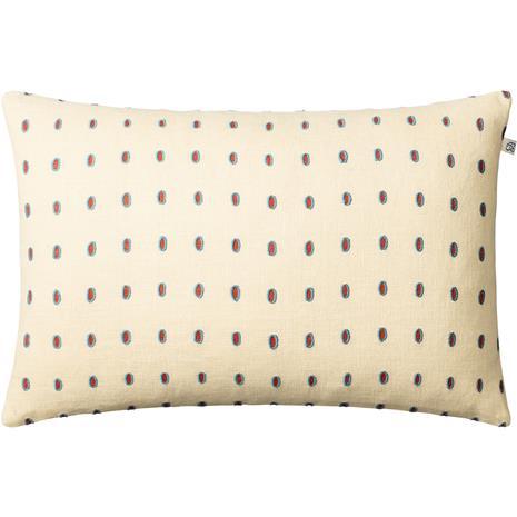 Chhatwal & Jonsson Chhatwal & Jonsson-Drop Cushion Cover Light Beige / Apricot Orange / Heaven Blue, 40x60 cm