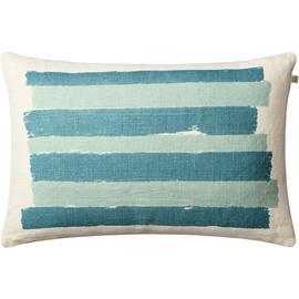 Chhatwal & Jonsson Chhatwal & Jonsson-Asha Cushion Cover 40x60 cm, Off White / Heaven Blue / Aqua