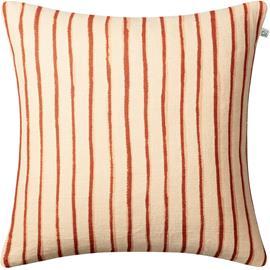 Chhatwal & Jonsson Chhatwal & Jonsson-Jaipur Stripe Cushion Cover 50x50 cm Light Beige / Apricot Orange / Rose