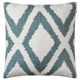 Chhatwal & Jonsson Chhatwal & Jonsson-Diamond Cushion 50x50 cm, Heaven Blue / Off White