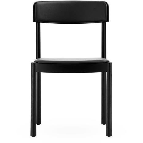 Normann Copenhagen Normann Copenhagen-Timb Chair, Ultra Leather, Black/Black