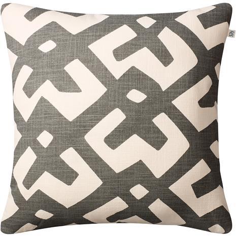 Chhatwal & Jonsson Chhatwal & Jonsson-Dadra Cushion 50x50 cm, Grey / Off White