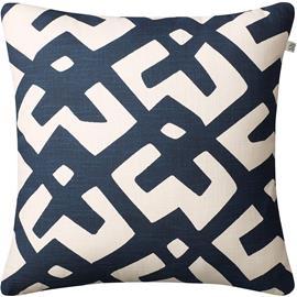Chhatwal & Jonsson Dadra Cushion 50x50 cm, Blue / Off White