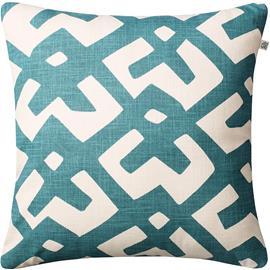 Chhatwal & Jonsson Dadra Cushion 50x50 cm, Heaven Blue / Off White
