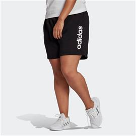 adidas Essentials Slim Logo Shorts (Plus Size)
