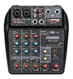 Audio Design Pro PAMX1.21UK, karaokemikseri