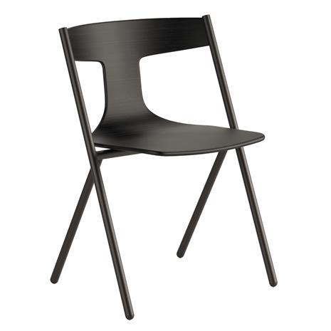 Viccarbe Quadra tuoli, musta - matta tammi