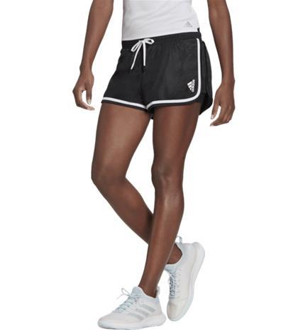 Adidas W CLUB SHORTS BLACK/WHITE