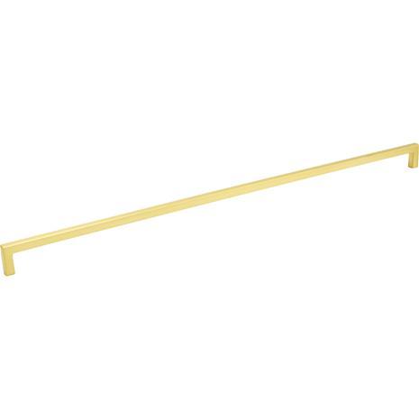 Beslag Design 0143 Handle 492, Brushed Brass
