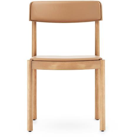 Normann Copenhagen Timb Chair, Ultra Leather, Tan/Camel
